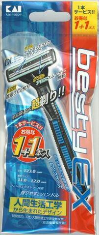 【 送料無料 】 【貝印】BSTX-1・1P1 ベスティーEX 1P×200個セット (4901331010552)