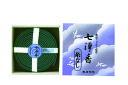 【送料込】カメヤマ 七浄香 渦巻線香 14巻 1個