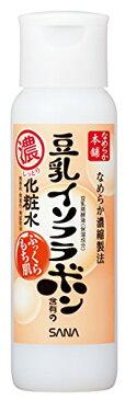 常盤薬品工業 サナ なめらか本舗 豆乳イソフラボン含有のしっとり化粧水 本体 200ml 無香料・無着色・無鉱物油