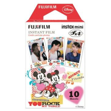 フジフィルム instax mini チェキ用フイルム ミッキー&フレンズ 10枚入 ×60個セット