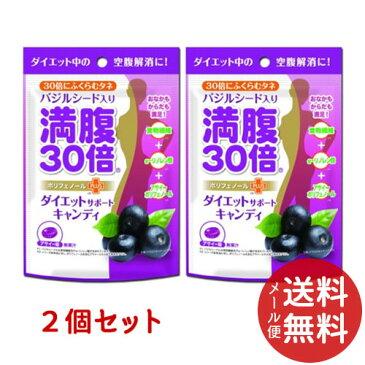 【メール便送料無料】グラフィコ 満腹30倍 ダイエットサポートキャンディ アサイー 42g ×2個セット