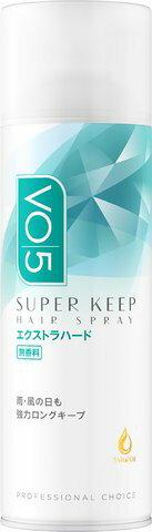 込 サンスターVO5スーパーキープヘアスプレーエクストラハード無香料330g×24個セット