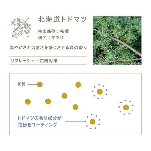 メディアで話題!【公式アットアロマ】C07ピュアグリーン10mlPUREGREENトドマツ花粉ガード