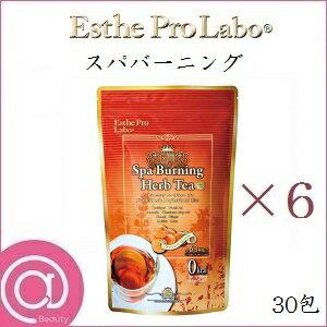 【6個セット】エステプロラボ ハーブティープロ スパバーニング 30包