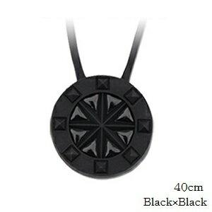 (正規品)バンデル スタッズ ネックレス Black×Black 40cm