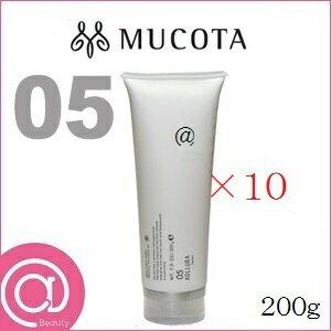 【×10セット】MUCOTA ムコタ アデューラ アイレ 05 ヘアマスク トリートメント スムーサー 200g【しっとりさらさらタイプ/マンゴスチンの香り】