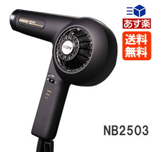 諾 NB2503 負離子吹風機黑色 < 1200w/600 W > 諾專業美髮吹風機頭髮吹風機電信 02P28Sep16