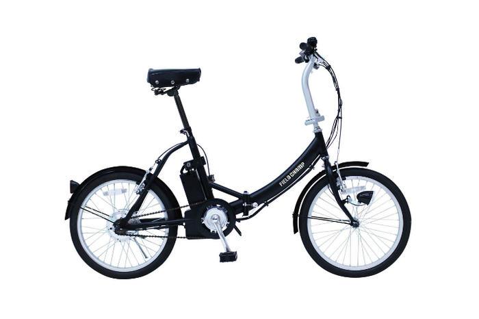 FIELD CHAMP ノーパンク電動アシスト FDB20E フィールドチャンプ 20インチ折畳自転車 メーカー直送 代引・日時指定不可 北海道・沖縄・離島配送不可