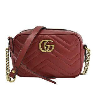 GUCCI Gucci 128980 Bag Shoulder bag Diagonal bag Nana Megake Bag Brand Red Ladies