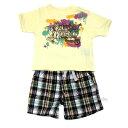 【メール便送料無料】CK Calvin Klein Jeansカルバンクラインジーンズ ボーイズ Tシャツ パンツ 2ピースセットベビー服 3672200t 2021