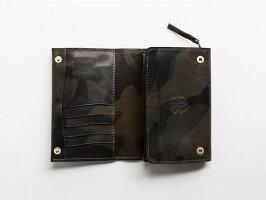 トワクレTroisCrefs三つ折り財布ミドルウォレットメンズアウトレットブランドtc1103m-camogr2020秋冬