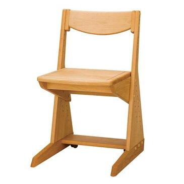 木製学習チェア ポップ (ナチュラル) (天板昇降デスク用)