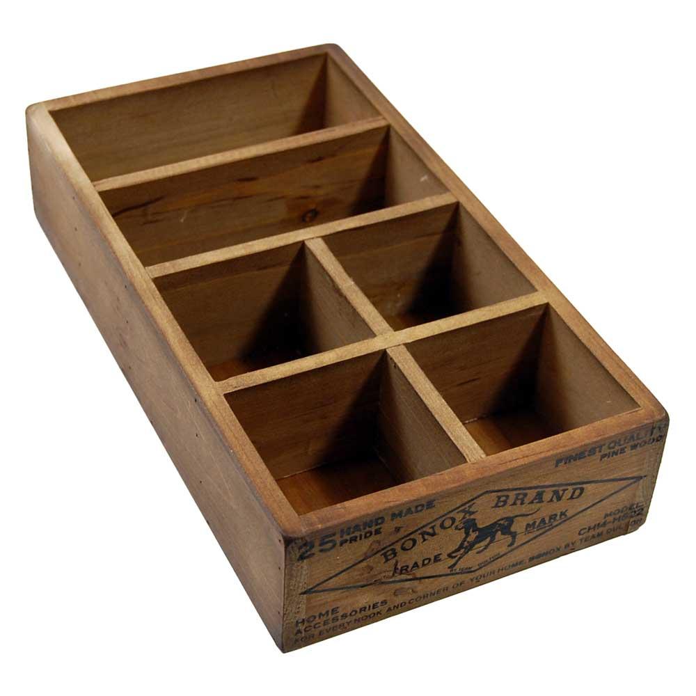 Image Gallery Wooden Organizer