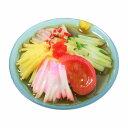 【メール便不可】食品サンプル屋さんのマグネット(冷やし中華)食品サンプル ミニチュア 雑貨 食べ物 冷やしラーメン 冷麺 土産 リアル