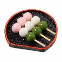 食品サンプル屋さんのマグネット(三色団子)食品サンプル ミニチュア 花見団子 雑貨 食べ物 外国 土産 リアル