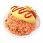 【メール便不可】食品サンプル屋さんのタブレットスタンド(オムライス)食品サンプルタブレッドiPhoneAndroidipadオムレツ雑貨食べ物サラダ