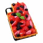 【メール便不可】食品サンプル屋さんのスマホケース(iPhoneXS、iPhoneXSMax、iPhoneXR:いちごタルト)食品サンプルiPhoneケースカバー雑貨食べ物スマートフォン