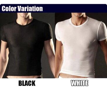 【セクシー メンズ】【送料別途】シェイプTシャツ [Shape T-shirts][セミハードタイプ][男性用 メンズ mens 補正下着 ウエスト 美姿勢 セクシーインナー 下着 アンダーウェア]