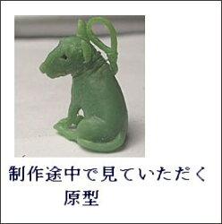 ペット遺骨ペンダント【あなたのペットの姿完全立体型】プラチナ900(ブルテリア)