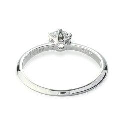 空枠【ジュエリーリフォーム・セミオーダー】エンゲージリング(婚約指輪)の定番pt900空枠