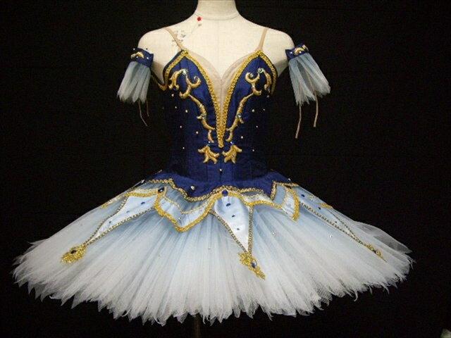 バレエ衣装レンタル クラシックチュチュ 21 海賊 青 フロリナ チュチュレンタル 【レンタル】