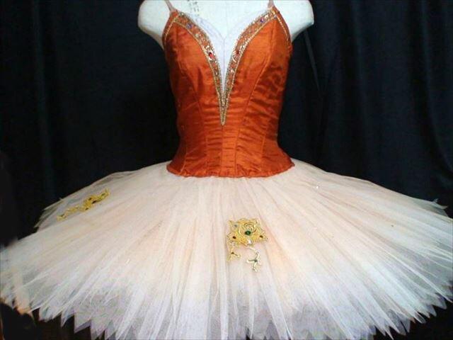 バレエ衣装レンタル クラシックチュチュ 93 赤 エスメラルダ トールサイズ チュチュレンタル 【レンタル】