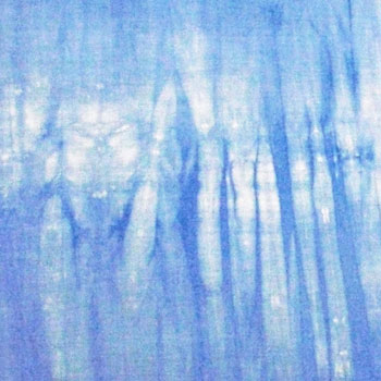 Irregularity dyeing canequim cloth (Sculley) made in Japan for patchwork * blue ジターヌ * 02P24Jun11