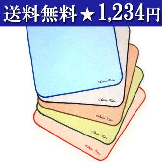 ◆ Japan with ruched mini towel 5 colors set ◆ made in Japan 02P24Jun11