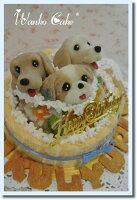 *ヘルシーディナーわんこケーキ*L期日制限