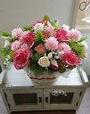 *misuzu* 枯れない上質な造花 お祝い・お見舞い・送別・誕生日 造花なので水入らず!メッセージカードも代筆可能です 高齢の方も楽にお手入れ不要