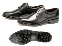 【日本製本牛革紳士靴】【滑りにくいRBセラミックスソールのビジネスシューズ-ひも式 静電気のピ…