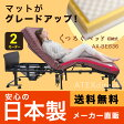 【組立設置無料】【送料無料】安心の日本製!くつろぐベッド 収納式 AX-BE836 (折りたたみベッド・電動ベッド) AX-BE836安心のメーカー直販 シングル アテックス ATEX 折りたたみベッド 折りたたみベット ベット グリップ付