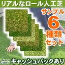 【サンプル】 人工芝 芝生 色までリアルなロール人工芝 カッ...