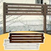 天然木製 ボーダーフェンス(アレンジ)目かくし(目隠し)や境界にウッドフェンス・木製フェンス・ゲート(門扉)をDIY!商品型番:jsbf-340