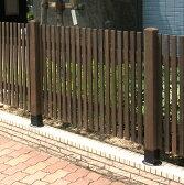 天然木製 ボーダーフェンス(和モダン)目かくし(目隠し)や境界にウッドフェンス・木製フェンス・ゲート(門扉)をDIY!商品型番:jsbf-808