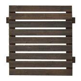 ボーダーフェンス (スタンダード 幅72)目かくし(目隠し)や境界にウッドフェンス・木製フェンス・ゲート(門扉)をDIY!商品型番:jsbf-790-720dbr