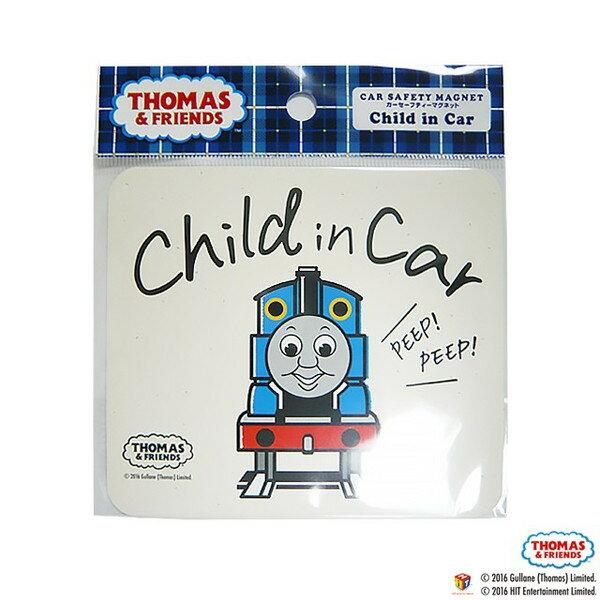 THOMAS&FRIENDS(きかんしゃトーマス)【CHILD IN CAR】カーセーフティーマグネット 1枚 Kikka for mother画像