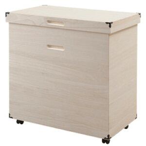 من المقرر أن تصل في أواخر شهر مايو / علبة تخزين كيري هينا مع عجلات (شحن مجاني صنع في اليابان ، منتج مكتمل] [حاوية كيري من النوع العميق HI-0083 قادرة على تخزين كميات كبيرة] Hina Doll Kiri Box Kiri Case Kiri Costume Box Closet تخزين