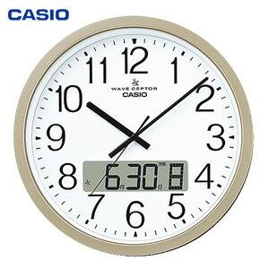 \ページ限定・ティースプーン付/ カシオ オフィス向け大型掛時計 IC-4100J-9JF 【送料無料・代引料無料】 [壁掛け時計 時報 電波クロック 見やすい 大型掛け時計]