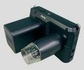 携帯式デジタル顕微鏡(紫外線・赤外線タイプ)白色/紫外線タイプ 1-2531-11 VIEWTER-500UV