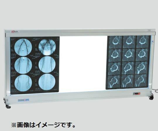 シャウカステン グロー方式(卓上壁掛兼用型) 420×85×540(mm) 50Hz/60Hz 半切1枚掛1段 LH-1