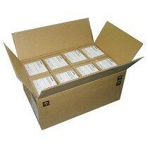 古紙配合両面マットコート名刺サイズホワイト500枚/箱