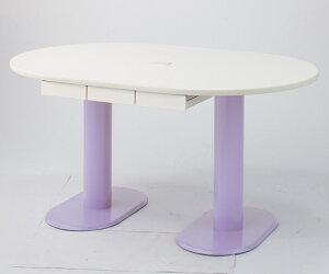 ナーステーブル(2本脚)足元の空間をすっきりとM-1812L-C1800×1200×740mm