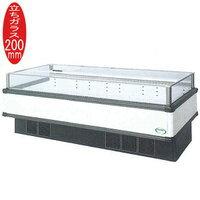 【代引き不可】福島工業株式会社 IMX-85PWFTAX W2271+(64.5×2)×D1100×H850mm 410L 215kg アイランドショーケース