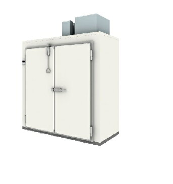 【代引き不可】福島工業株式会社 パネル組立式 冷蔵庫 BRS-290R 3854L W2900×D1000×H2408mm 241kg