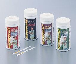 残留塩素試験紙 アクアチェック3 (測定項目:低濃度遊離残留塩素,ph,Mアルカリ度)
