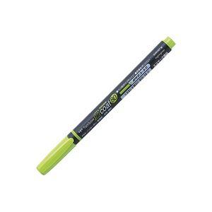(業務用30セット) トンボ鉛筆 蛍光マーカー/蛍コート80 【黄緑】 WA-SC92