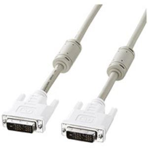 (業務用10セット) サンワサプライ DVIケーブル KC-DVI-5K(シングルリンク):アスリートトライブ