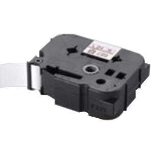 (業務用30セット) マックス 強粘着テープ LM-L518BWK 白に黒文字 18mm:アスリートトライブ