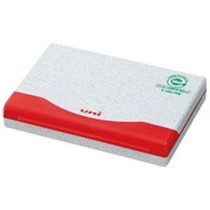 (業務用50セット) 三菱鉛筆 速乾スタンプ台 HSP2F.15 赤:アスリートトライブ